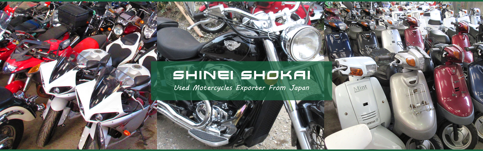 SHINEI SHOKAI | Used Motercycles Exporter From Japan